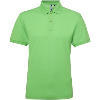 textil Herre Polo-t-shirts m. korte ærmer Asquith & Fox AQ015 Lime