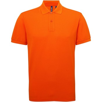 textil Herre Polo-t-shirts m. korte ærmer Asquith & Fox AQ015 Orange