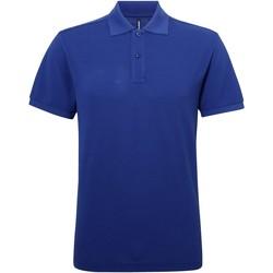 textil Herre Polo-t-shirts m. korte ærmer Asquith & Fox AQ015 Royal