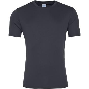 textil Herre T-shirts m. korte ærmer Awdis JC020 Charcoal