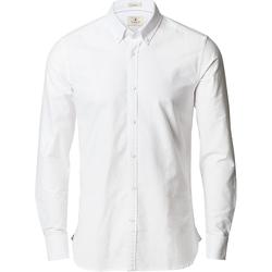textil Herre Skjorter m. lange ærmer Nimbus NB66 White
