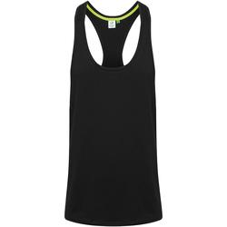 textil Herre Toppe / T-shirts uden ærmer Tombo TL504 Black
