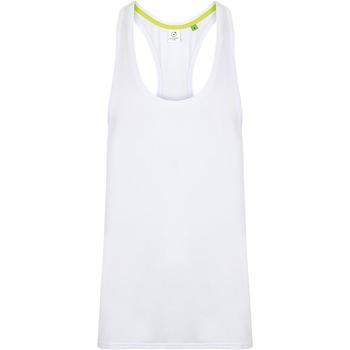 textil Herre Toppe / T-shirts uden ærmer Tombo TL504 White