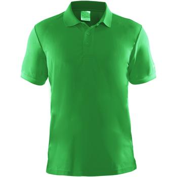 textil Herre Polo-t-shirts m. korte ærmer Craft CT045 Green