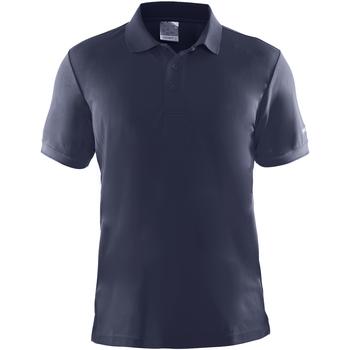 textil Herre Polo-t-shirts m. korte ærmer Craft CT045 Navy