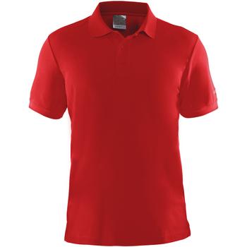textil Herre Polo-t-shirts m. korte ærmer Craft CT045 Red
