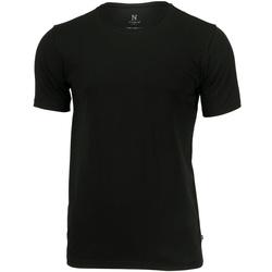 textil Herre T-shirts m. korte ærmer Nimbus NB73M Black