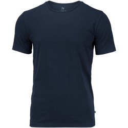 textil Herre T-shirts m. korte ærmer Nimbus NB73M Navy