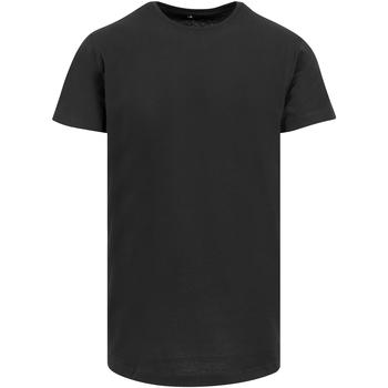 textil Herre T-shirts m. korte ærmer Build Your Brand Shaped Black
