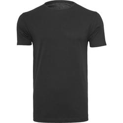 textil Herre T-shirts m. korte ærmer Build Your Brand BY005 Black