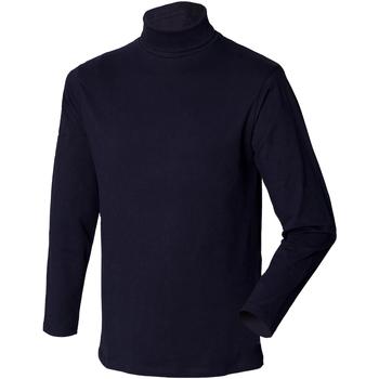 textil Herre Pullovere Henbury HB020 Navy