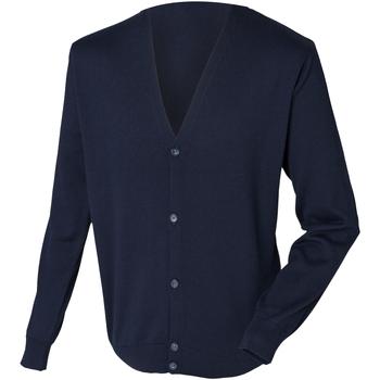 textil Herre Veste / Cardigans Henbury HB722 Navy