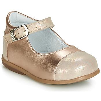 Sko Pige Ballerinaer GBB BELISTO Pink / Guld