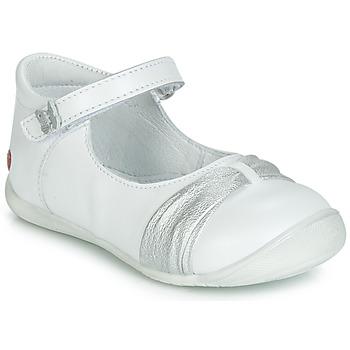 Sko Pige Ballerinaer GBB MALLA Hvid