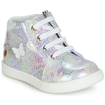 Sko Pige Høje sneakers GBB MEFITA Hvid / Pink