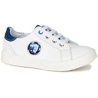 Sko Dreng Lave sneakers GBB URSUL Vte / Hvid-blå / Led / Dpf / 2706