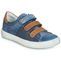Sko Dreng Lave sneakers GBB POMMOR Blå / Brun