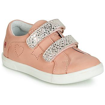 Sko Pige Lave sneakers GBB BALOTA Pink / Sølv