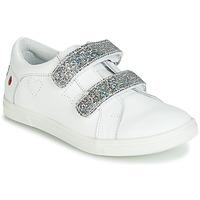 Sko Pige Lave sneakers GBB BALOTA Hvid / Sølv