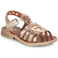 Sko Pige Sandaler GBB FANNI Pink / Guld / Guld