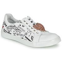 Sko Pige Lave sneakers GBB MUTA Hvid