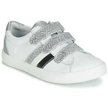 Sko Pige Lave sneakers GBB MADO Hvid / Sølv