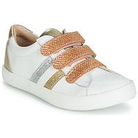 Sko Pige Lave sneakers GBB MADO Hvid / Guld