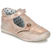 Sko Pige Ballerinaer Catimini SANTA Pink / Guld