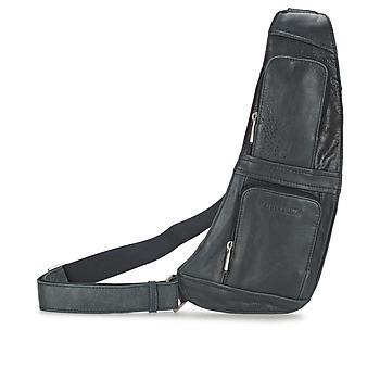 Tasker Herre Bæltetasker & clutch  Arthur & Aston MIGUEL Sort