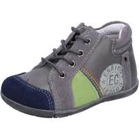 Sko Dreng Lave sneakers Enrico Coveri sneakers grigio camoscio pelle BX827 Grigio