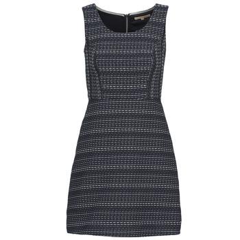 textil Dame Korte kjoler Tom Tailor BLANKA Marineblå / Hvid