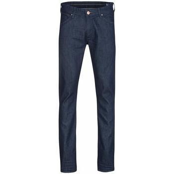 textil Herre Smalle jeans Wrangler Larston W18S6274J navy