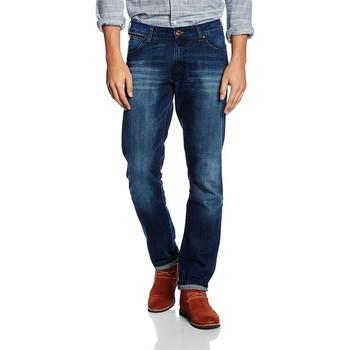 textil Herre Smalle jeans Wrangler Larston Blaze W18S8282T navy