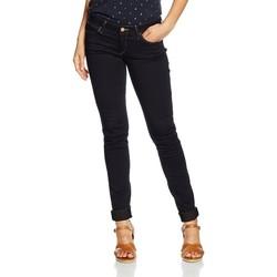 textil Dame Jeans - skinny Wrangler Courtney Skinny W23SBV79B navy