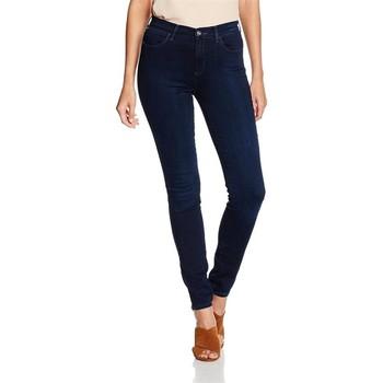 textil Dame Jeans - skinny Wrangler High Skinny W27HBV78Z navy