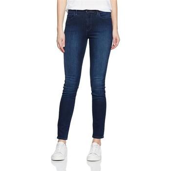 textil Dame Jeans - skinny Wrangler High Rise Skinny Subtle Blue W27HX786N navy