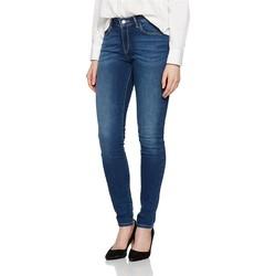 textil Dame Jeans - skinny Wrangler ® Skinny Authentic Blue 28KX785U blue