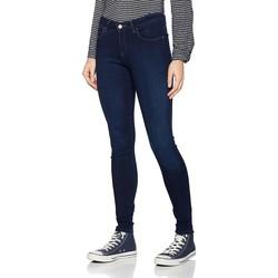 textil Dame Jeans - skinny Wrangler Super Skinny True Beauty W29JBV94Z navy