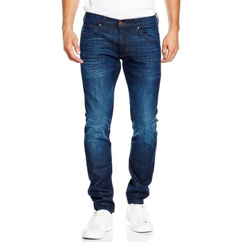 textil Herre Smalle jeans Wrangler Bryson W14X9184Y navy