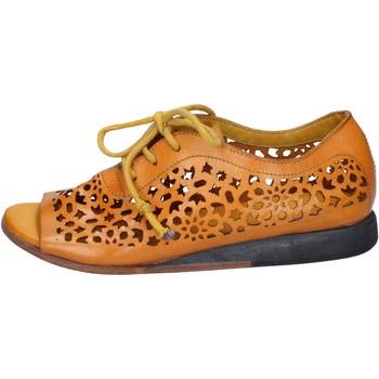 Sko Dame Sandaler Moma sandali giallo pelle BX962 Giallo