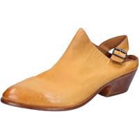 Sko Dame Sandaler Moma sabot sandali giallo pelle BX975 Giallo