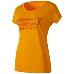 textil Dame T-shirts m. korte ærmer Dynafit Compound Dri-Rel Co W S/s Tee 70685-4630 orange