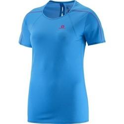 textil Dame T-shirts m. korte ærmer Salomon Minim Evac Tee W 371146 blue