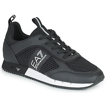 Sko Lave sneakers Emporio Armani EA7 LACES U Sort