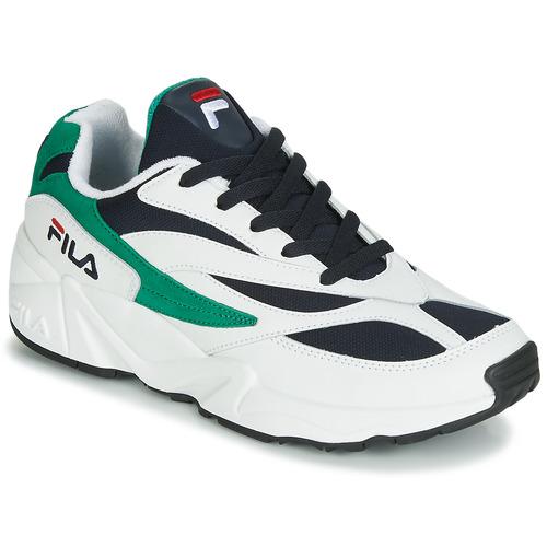 6c8073e3 Fila Venom. 515.00. Sko Herre Lave sneakers Fila VENOM LOW Hvid / Grøn ...