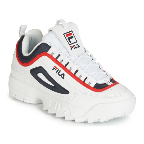 new products 77c85 32eac Sko Herre Lave sneakers Fila DISRUPTOR CB LOW Hvid