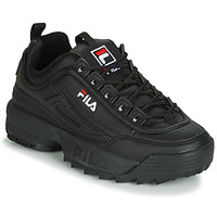 Sko Dame Lave sneakers Fila DISRUPTOR LOW WMN Sort