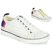 Sko Dame Lave sneakers Diesel D-VELOWS LOW PATCH W Hvid