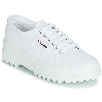 Sko Dame Lave sneakers Superga 2555 COTU Hvid