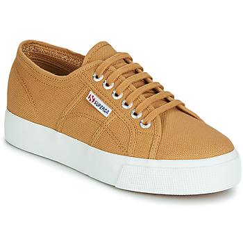 Sko Dame Lave sneakers Superga 2730 COTU Beige